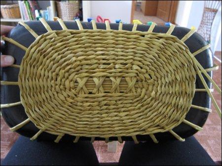 Мастер-класс по плетению из газет и журналов хлебницы для кухни