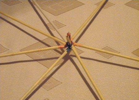 Спиральное плетение из газет: мастер класс на примере пасхального декора 1379407595_3