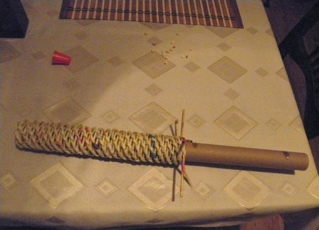 Спиральное плетение из газет: мастер класс на примере пасхального декора 1379407699_24