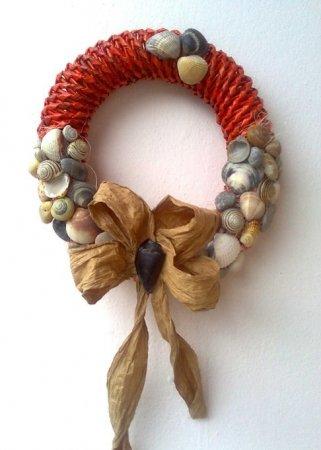 Спиральное плетение из газет: мастер класс на примере пасхального декора 1379407710_33