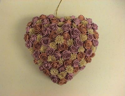 Квиллинг сердце: мастер-класс