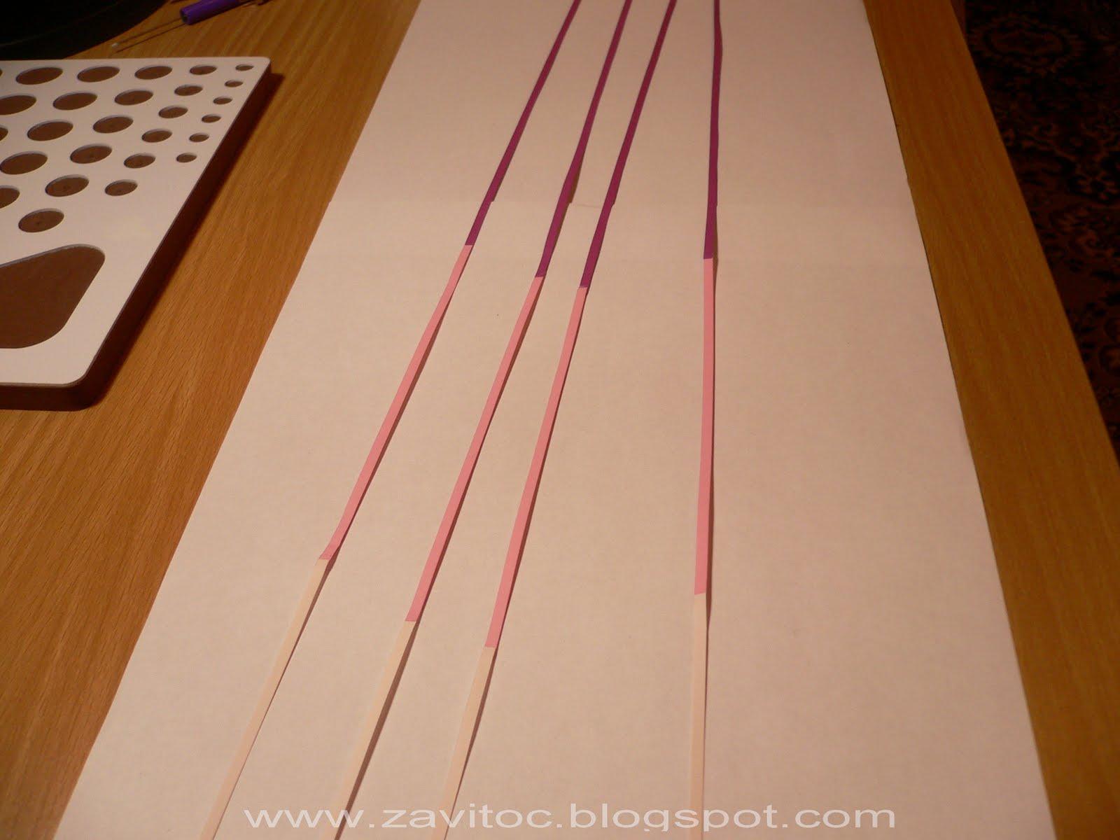 Полоски из бумаги для квиллинга своими руками