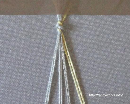 фенечек c косым плетением