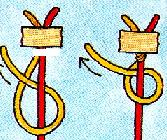 Как на фенечки сделать петельку
