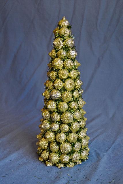 Фото елок своими руками из природных материалов