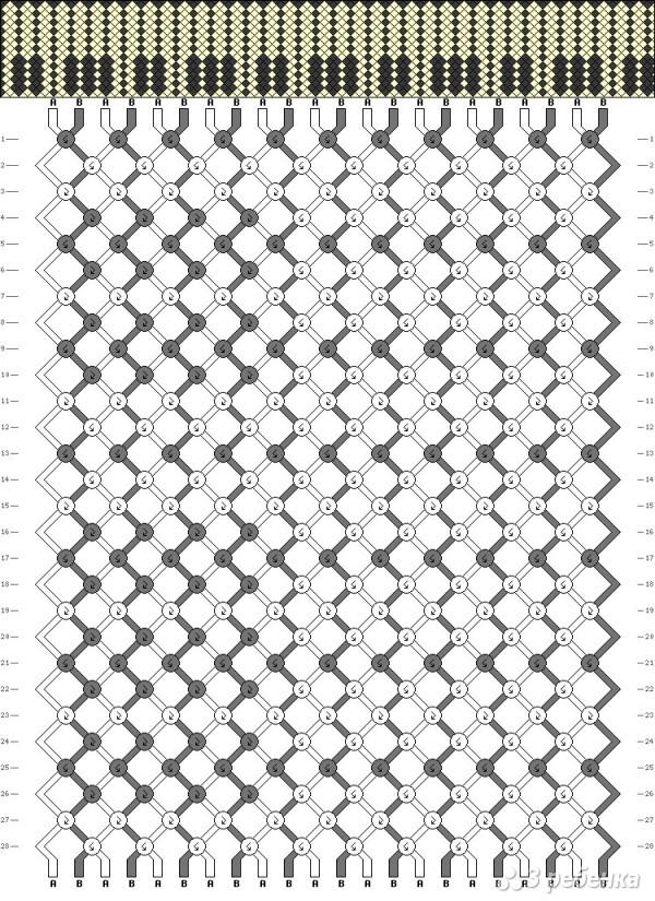 Все популярные схемы фенечек