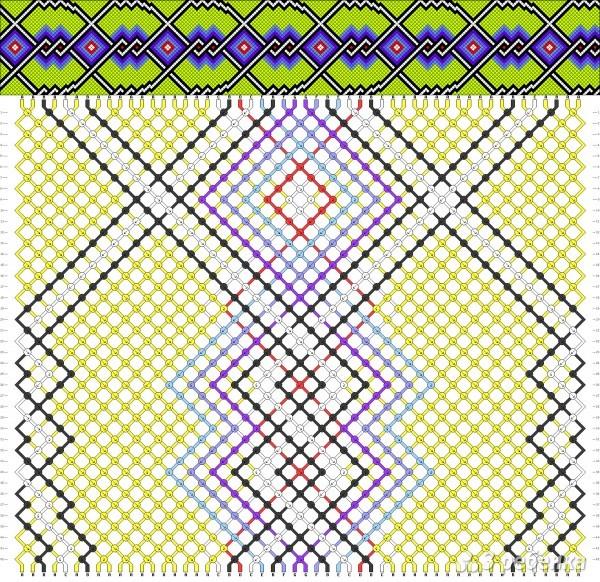 Фенечки - Схемы плетения