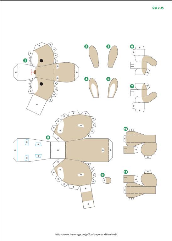 бумаги майнкрафт - схемы