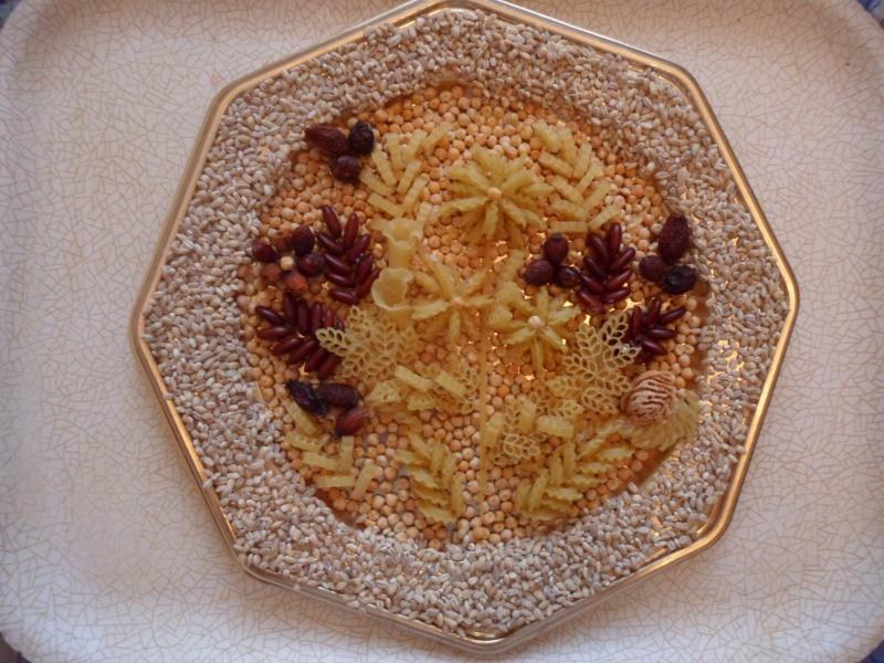 Поделки для кухни из макарон
