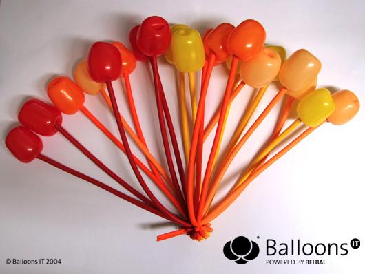 Поделки из шариков на примере