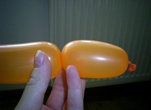 Как сделать из сосиски шарика
