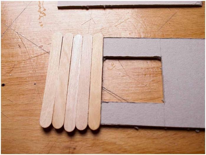 Как из картона сделать палку
