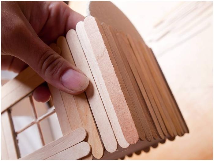 Домик из картона и бумаги своими руками