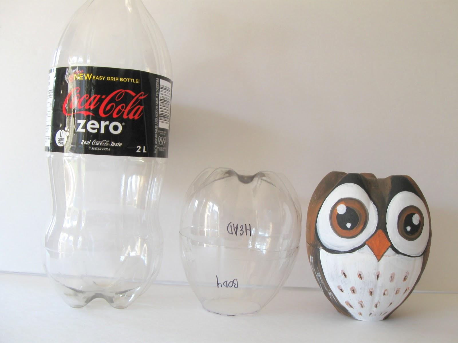 Мастер класс сова из бутылки пластиковой своими руками 397