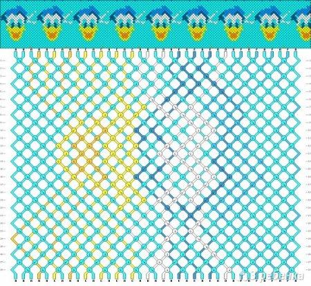 Схема фенечки из мулине сердечки фото 274