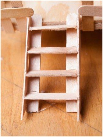 Лестница из бумаги своими руками