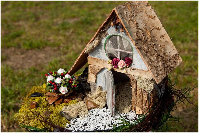 Как сделать домик из подручных материалов своими