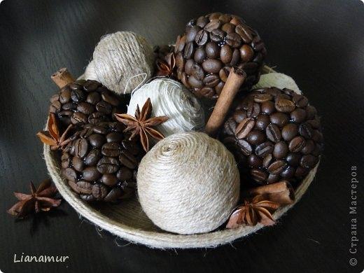 Как сделать шар из зерен