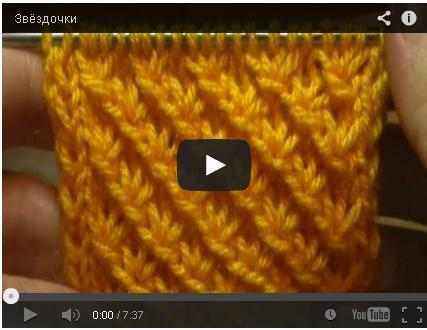 Вязание спицами видео уроки