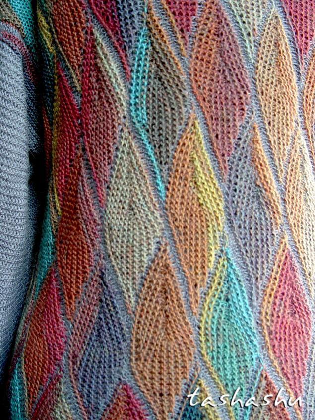 Схема вязания клоке на спицах