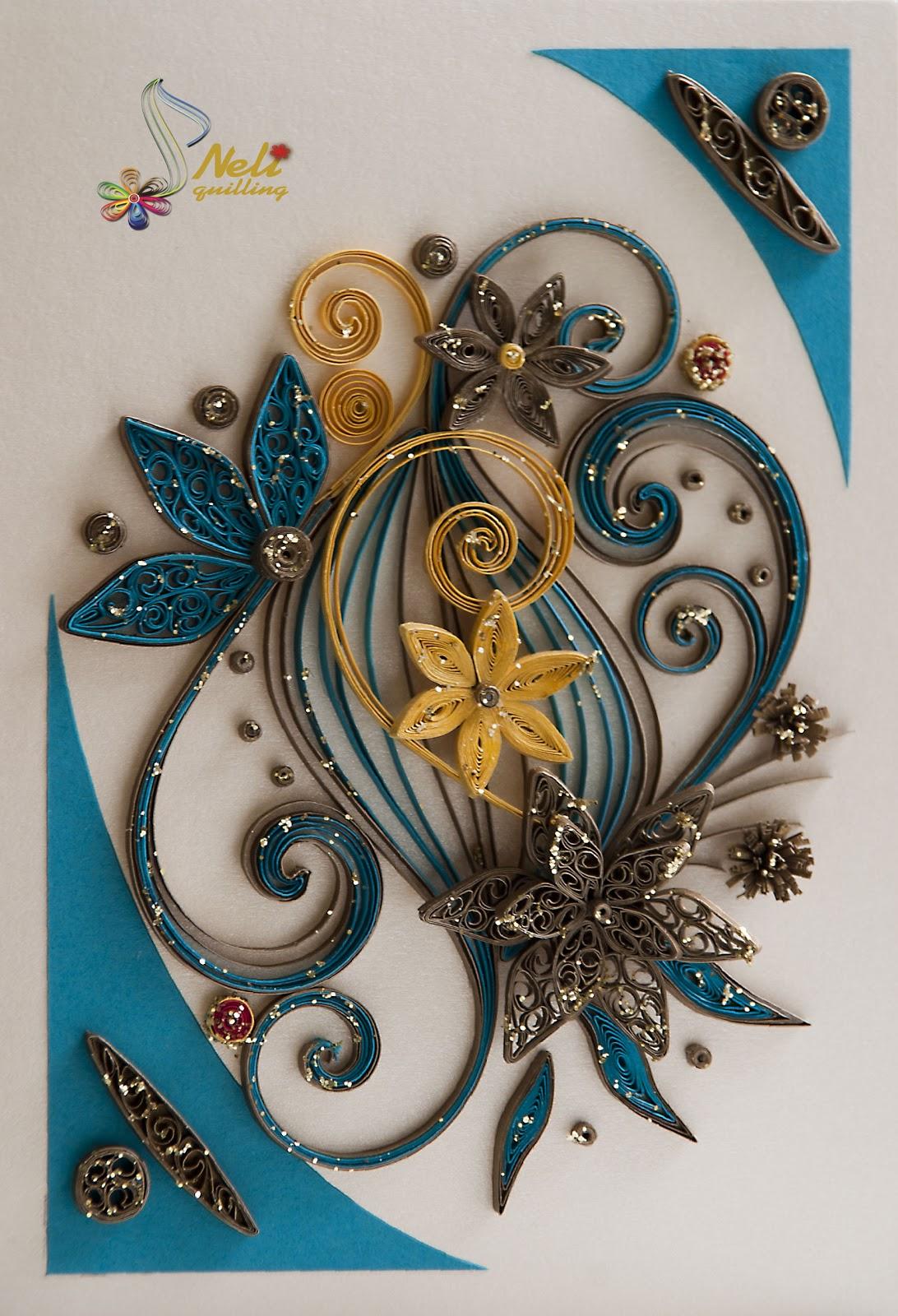 Работы из квиллинга открытки