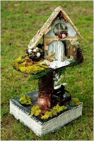Красивый садовый домик своими руками фото 549