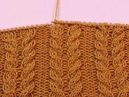 Cхемы вязания спицами для