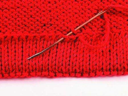 Вязание обработка швов