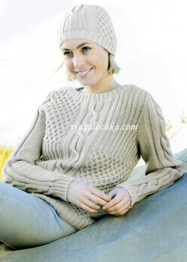 фото вязание спицами для женщин с описанием