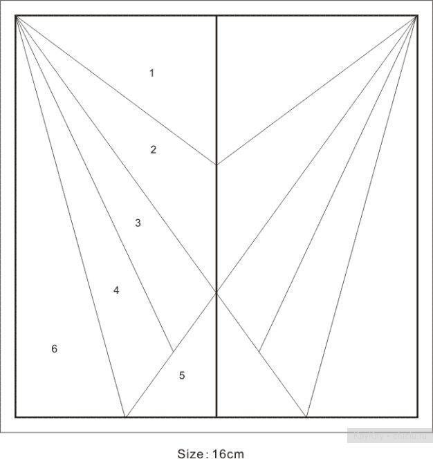 Лоскутное шитье: схемы для