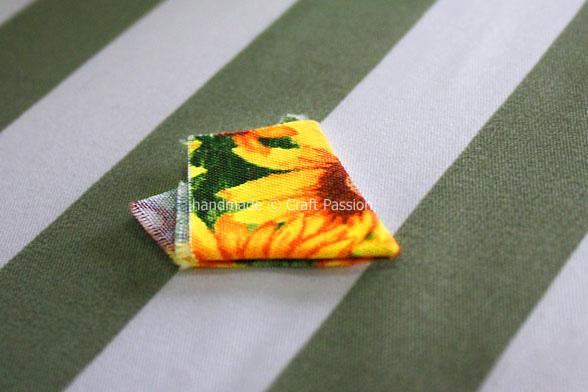 Коврик из лоскутков ткани своими руками сшить
