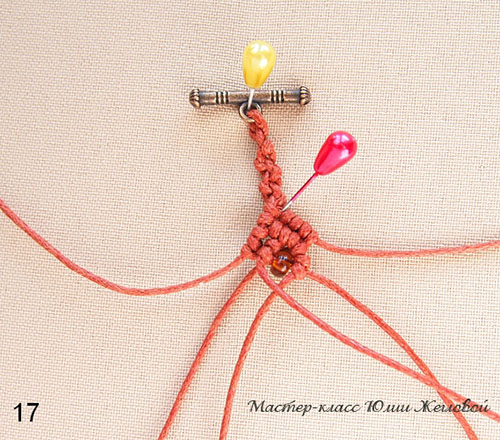 макраме: схема плетения