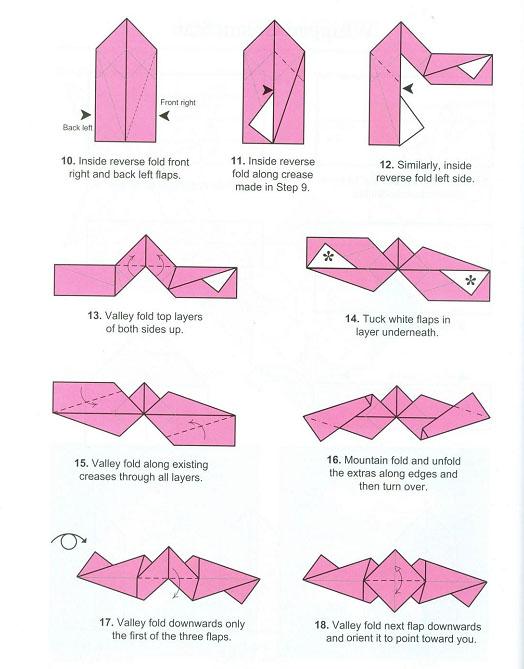 Кусудама и оригами: схемы