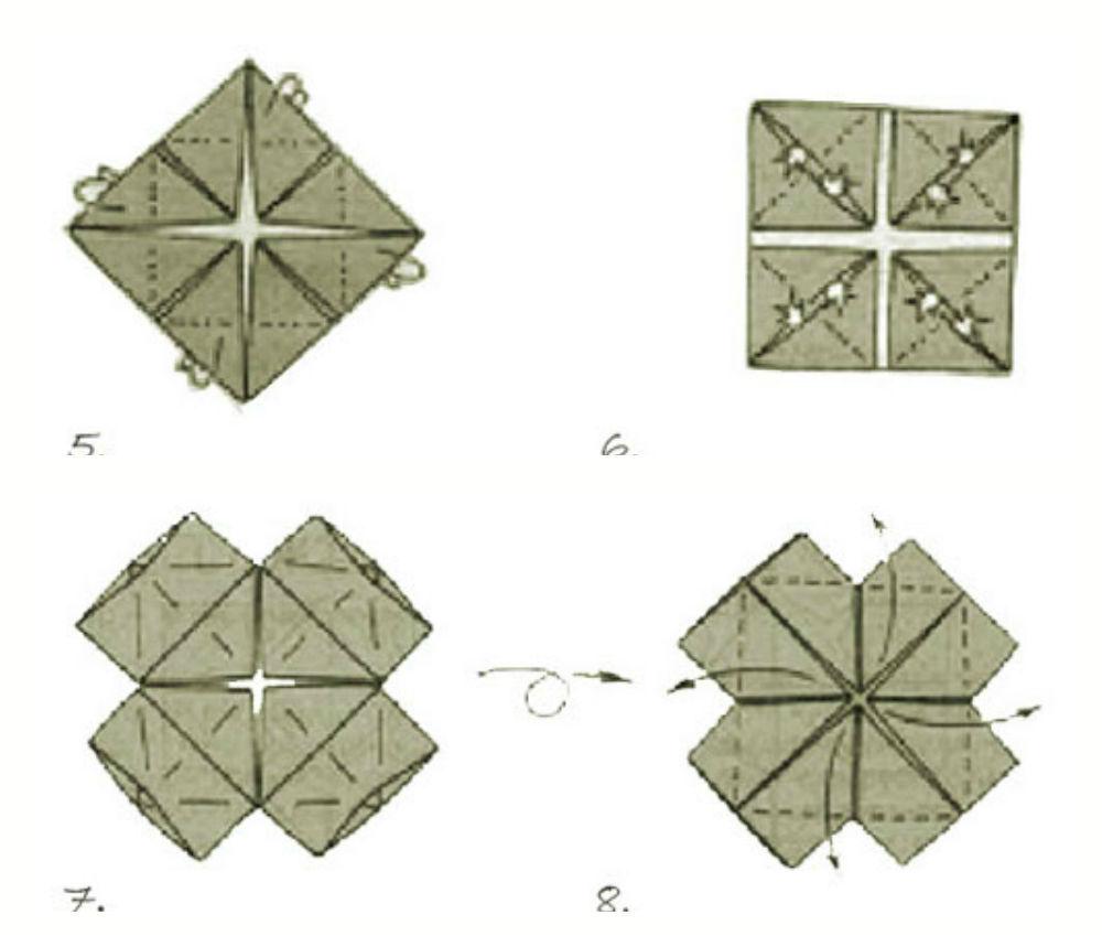 Кусудамы схемы модулей