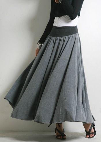 Как сшить юбку на зиму своими руками