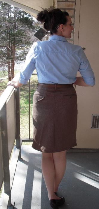 Как из брюк сшить юбку мастер-класс фото 740