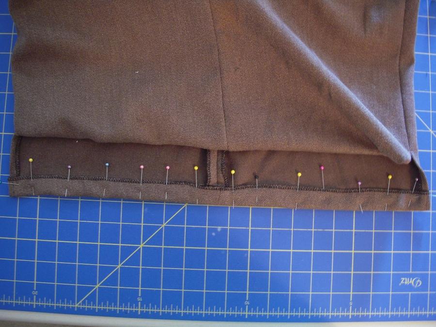 Что сшить из брюк юбку 431