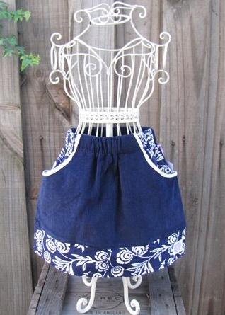 Выкройки карманов для детской юбки