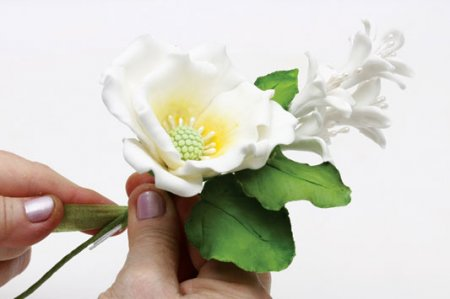 Сахарные цветы своими руками