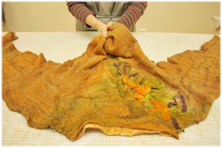 Осенняя женская кофточка