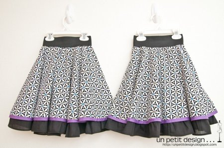 Детская пышная юбка: выкройка и пошив