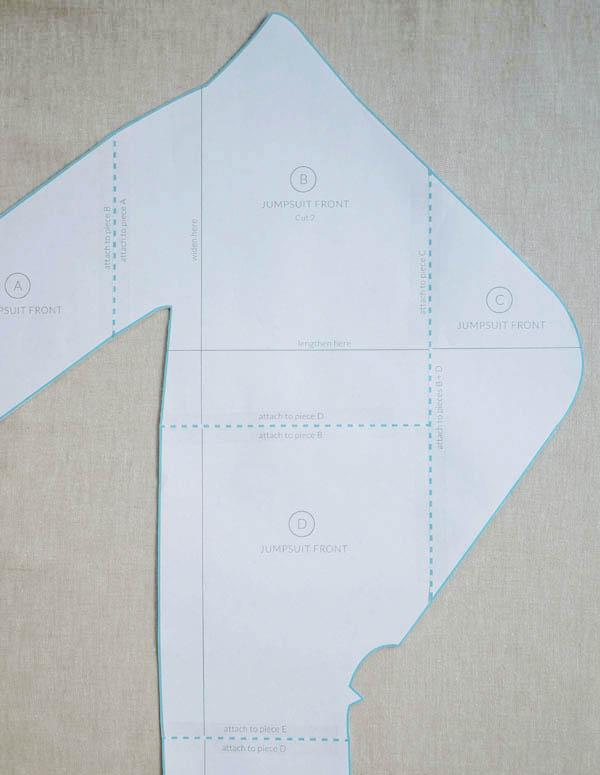 Выкройка комбинезона для новорожденного на выписку