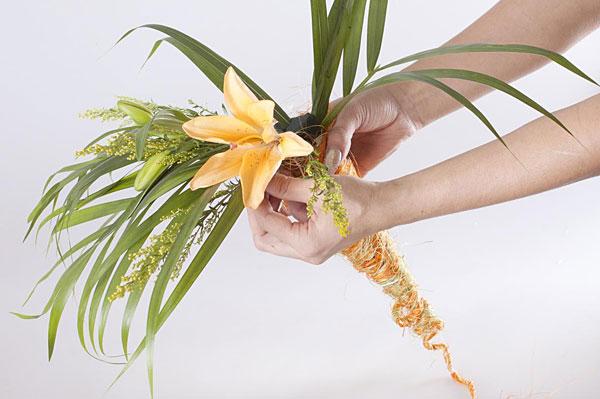 Упаковка цветов своими руками мастер