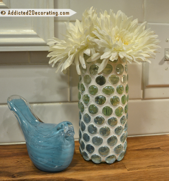 Мастер-класс как украсить стеклянную вазу