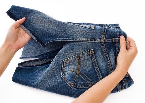 Как из джинс сшить юбку 82