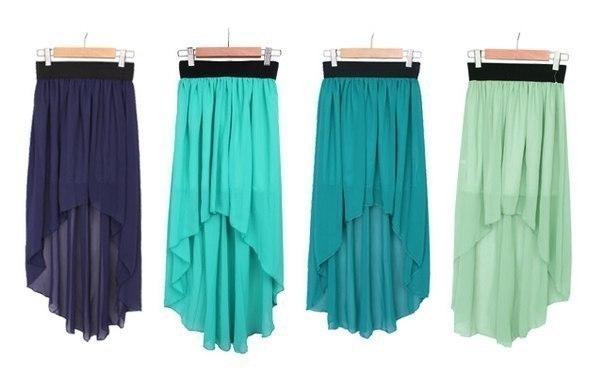 Как сшить юбку из шифона выкройки