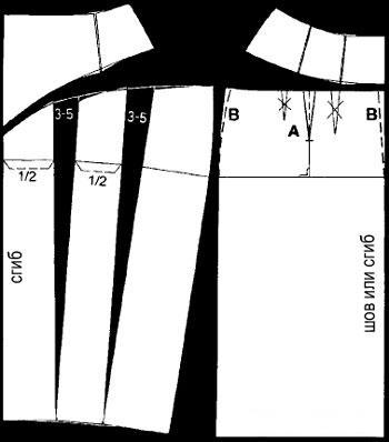 Юбка в складку выкройка построение выкройки фото 641