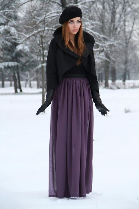Сшить длинную юбку на кокетке своими руками