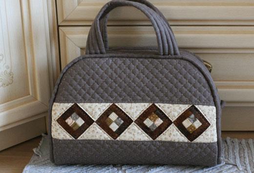Лоскутное шитье сумки: мастер