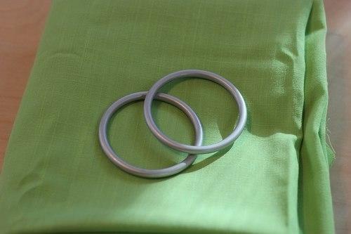 Кольца для слинга своими руками фото